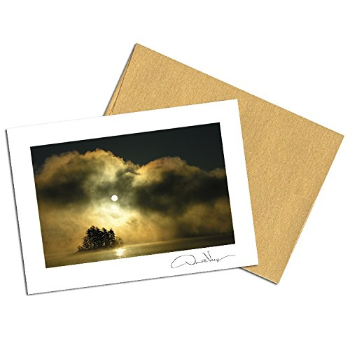 Dawn of Peace Note Cards. 3.5x5. Set of 8 Blank Folded Cards with Matching Envelopes. Great Birthday Cards, Thank You Notes & Invitations. Best Quality Christmas, Mother's Day & Valentine's - Mothers Day Cards Free Shipping