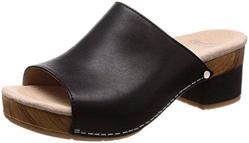Dansko Mujeres Maci Sandal Black Full Grain