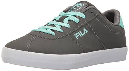 Fila Women's ROSAZZA 3 Walking Shoe, Castlerock/Aruba Blue/White
