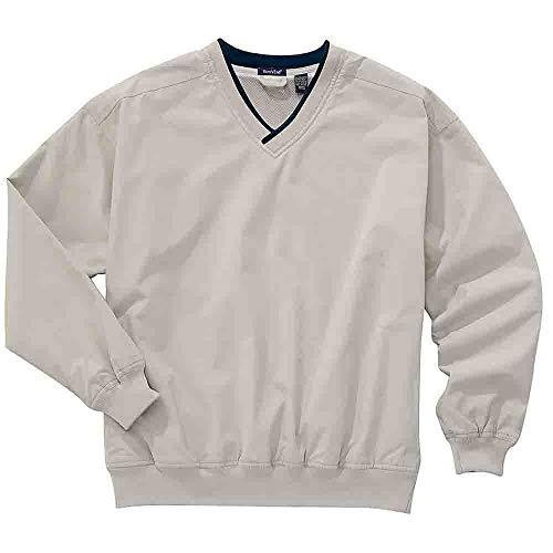 (Rivers' End Mens Lined Microfiber Windshirt Athletic Jacket Navy LT)