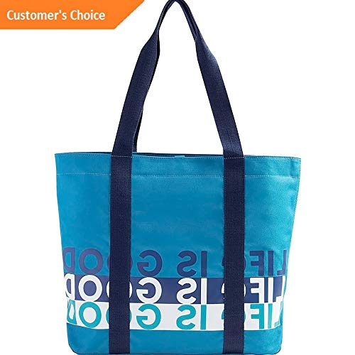 Sandover Life is good Sunny Day Cooler Tote 2 Colors All-Purpose Tote NEW   Model LGGG - 8249  
