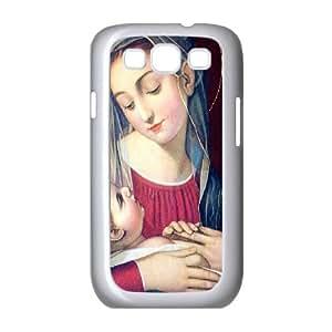 Samsung Galaxy S3 Case Madonna Mary and Jesus, Samsung Galaxy S3 Case I9500 - [White] Haygen