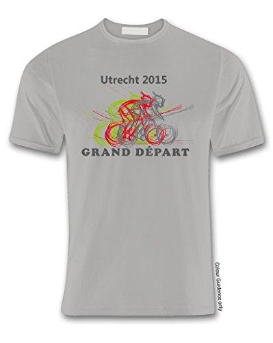para de hombre corta Ciclismo Camiseta Gris manga 360 XTwx8gSq8