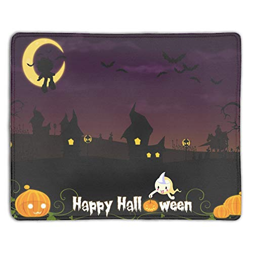 Halloween Mouse Pad,Gorgeous Color Printed Mousepad Non Slip Rubber Mouse pad Gaming Mouse Pad