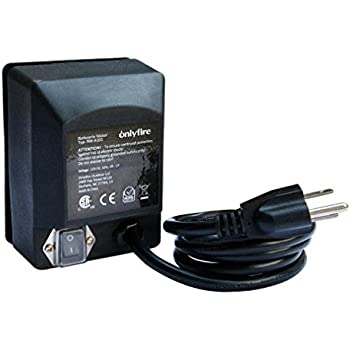 onlyfire Universal Grill Electric Replacement Rotisserie Motor 110 Volt 4 Watt On/Off Switch, Black