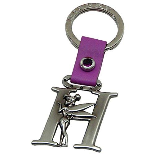 (Tinker Bell Letter H Pewter Key Chain)