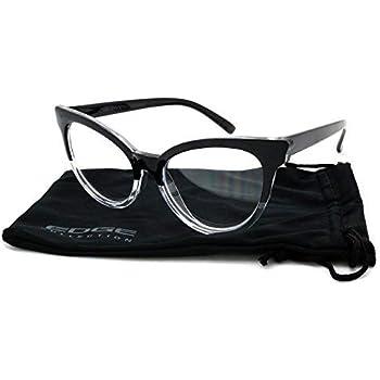 7581be4c31 Edge I-Wear Vintage Cat Eye Readers for Women Reading Glasses 1.75  39401P +1.75-1(BLK-CL)