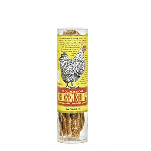 Dog Polka Bakery (Polka Dog Bakery Chicken Strip Jerky Dog Treat, 4-Ounce)
