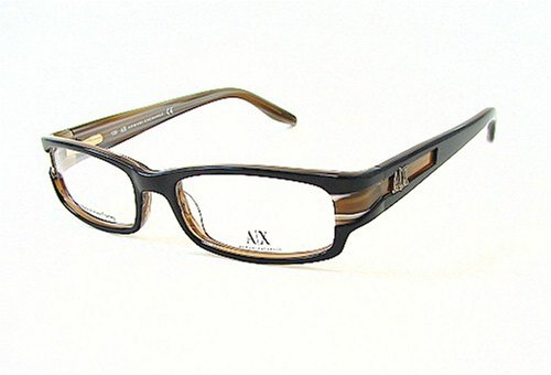 211 Eyeglasses - ARMANI EXCHANGE AX 211 Black 0JBC Optical Eyeglasses Frame