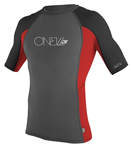 O'Neill Basic Skins Short Sleeve Crew Rash Guard Shirt 3XL