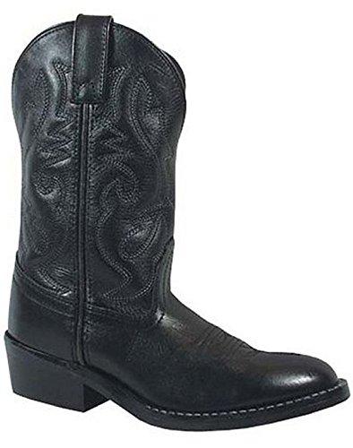 Denver Western 3 Boots D Rubber Black Smoky Child Kids Sole Mountain Width qtxPwSEp