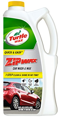 - Turtle Wax T-79 Zip Wax Liquid Car Wash and Wax. 64 oz.