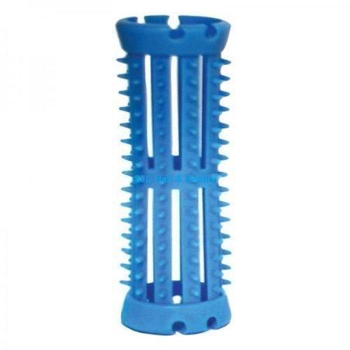 SKELOX Plastic Hair Rollers/ Curlers 12 x 20mm Blue + Free Pins! Head Gear/ Hair Tools 611823