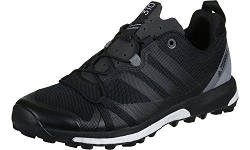 Adidas Terrex Agravic, Scarpe da Escursionismo Uomo, Nero (Negbass/Grivis), 44 EU