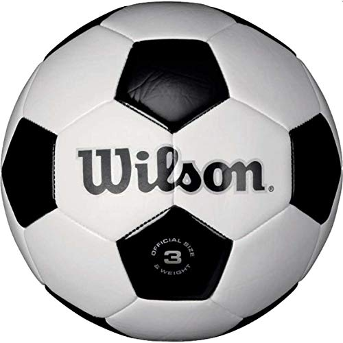 Wilson Traditional Soccer Ball - Size 4 (Equipment Boys Soccer)