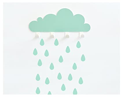 Perchero nube Menta: Amazon.es: Hogar