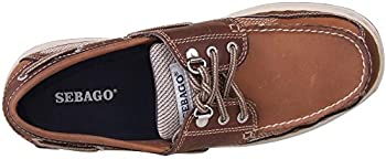 Sebago Men's Clovehitch Ii Boat Shoe,dark Taupedark Brown,11 M Us 1