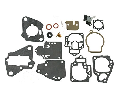 Mariner Carburetor (Mercury Mariner Carb Carburetor Repair Rebuild Kit MANY 6 8 9.9 10 15,20 & 25 HP)
