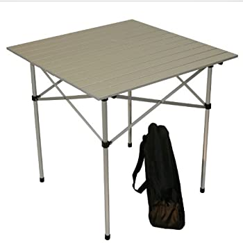 Attractive Table In A Bag TA2727GA Tall Aluminum Portable Table With Carrying Bag, Grey Part 31