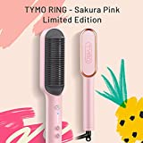 TYMO Ring Pink Hair Straightener Brush – Hair