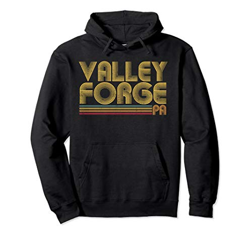 VALLEY FORGE PA Pennsylvania Vintage 70's 80's Retro Hoodie