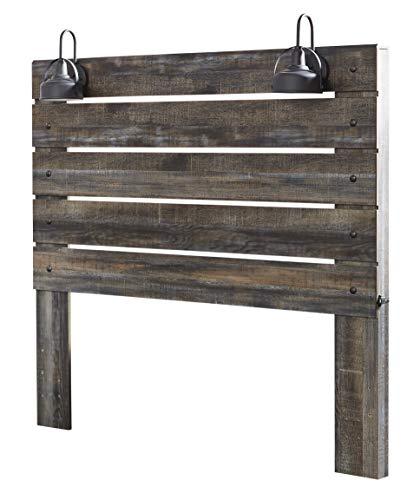 Signature Design By Ashley - Drystan Queen Panel Headboard - Brown (Queen Headboards For Wood Beds)