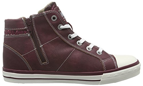 Hi 55 Top Sneakers Mustang 508 Bordeaux 1146 Red Women's zxCtcqwUR