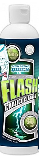 - Flash Chalice Cleaner 12 Fl Oz 5 Pack with Free I'm Baked Bro & Doob Tubes Sticker