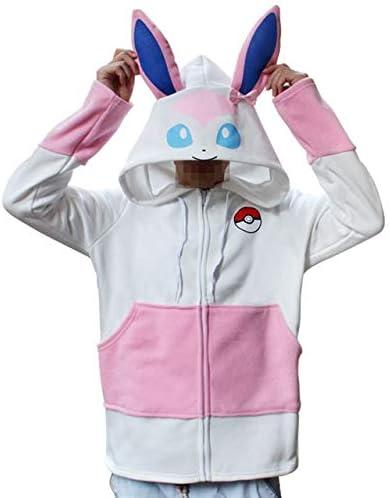 MSSJ Anime Pokemon Go Pikachu Umbreon Ears Hoodies Disfraz de ...