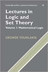 Lectures In Logic And Set Theory Volume I Mathematical border=