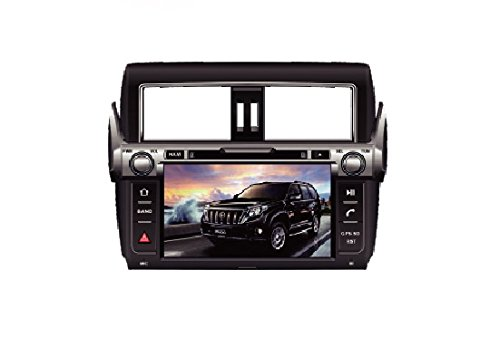 9 Inch Touch Screen Car GPS Navigation for TOYOTA PRADO LC150 PRADO 150 2014-2016 Stereo DVD Player Video Radio Audio Bluetooth Steering Wheel Control AUX IN+Free Rear View Camera+Free GPS Map of USA