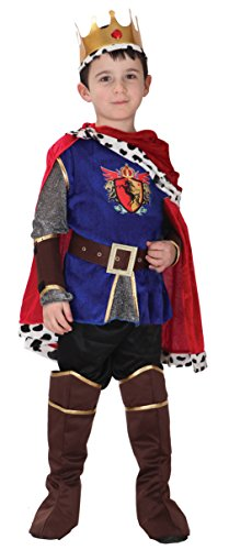 GIFT TOWER Boys Halloween Cosplay Costume Prince Charming Costumes 4-6Y (Prince Charming Costume For Kids)