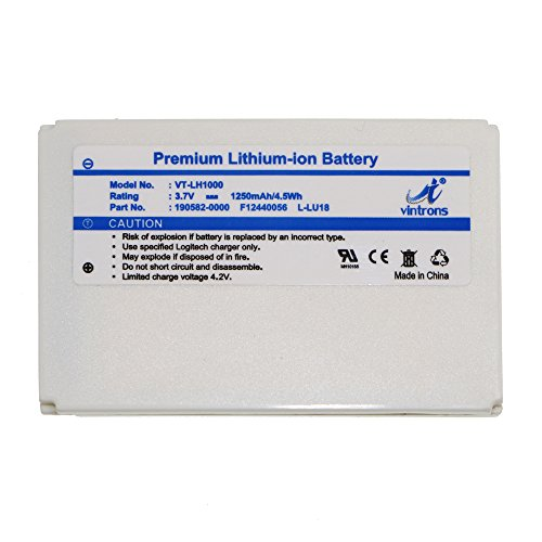 VINTRONS, F12440056 Battery for Logitech Harmony 1000