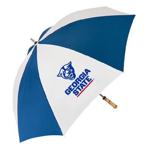 Georgia State 62 Inch Royal/White Umbrella 'Official Logo' by CollegeFanGear