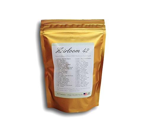 Heirloom 42 Varieties Pollinated Non Hybrid product image