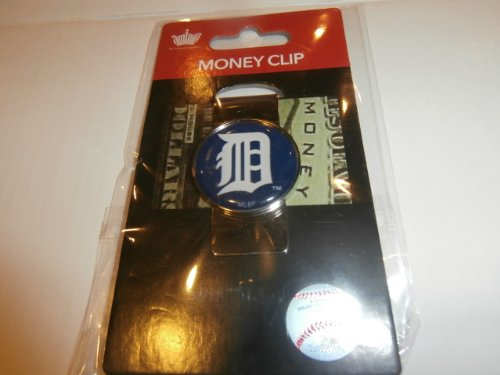 aminco MLB Detroit Tigers Domed Money Clip (Detroit Tigers Money Clip)