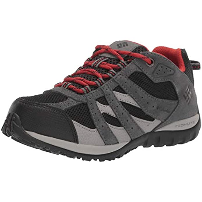 Columbia Youth Redmond Waterproof Hiking Shoe, Breathable Leather