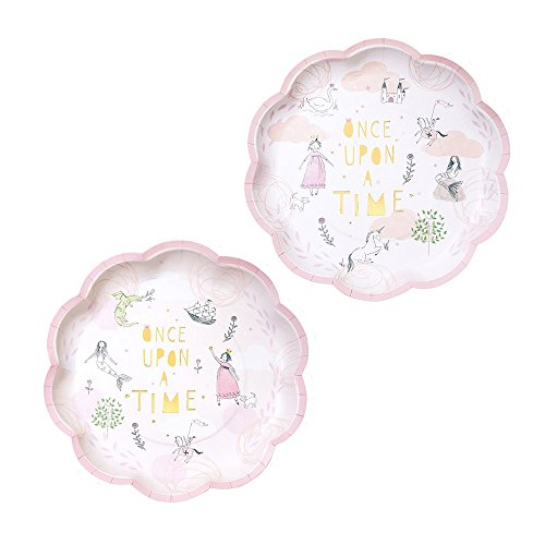 Fairy Baby Shower (Once Upon A Time Fairytale Paper Plates - Birthday Party x 12)
