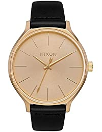 Clique Womens Gold/Black Fashion-Forward Watch (38mm. All Gold Face/