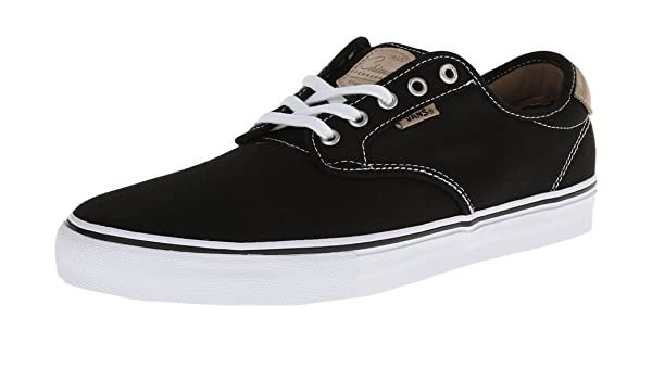 Vans Chima Ferguson Pro Mens Skate Shoe- Black White Tan (6.5 D(M) US) 7ebb85edc