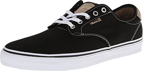 Vans Chima Ferguson Pro Mens Skate Shoe- Black/White/Tan (6.5 D(M) US) 1W0SuyF