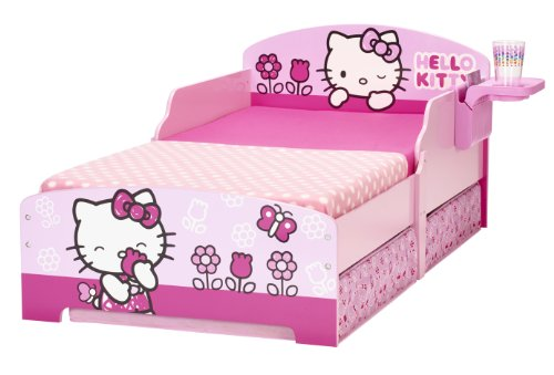 hello kitty 499hlk kinderbett mit aufbewahrung und. Black Bedroom Furniture Sets. Home Design Ideas