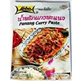 Lobo Brand Thai Panang Curry Paste 1.76 Oz (Pack of 3) Thai Seasoning