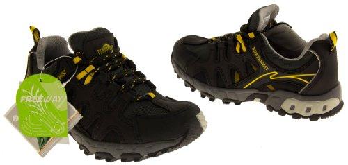 Bottes Chaussures Gris Territory Randonnée Trekking Cuir Femmes de Northwest Hope HZqg7S4w