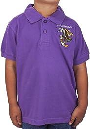 Ed Hardy Toddlers Eagle Polo - Purple