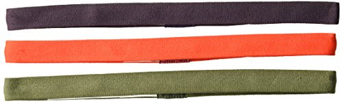 prAna Headband 3 Pack, Cargo Red Plum, One Size