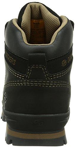 Dockers - Botas de cuero hombre negro - Schwarz (schwarz  001)