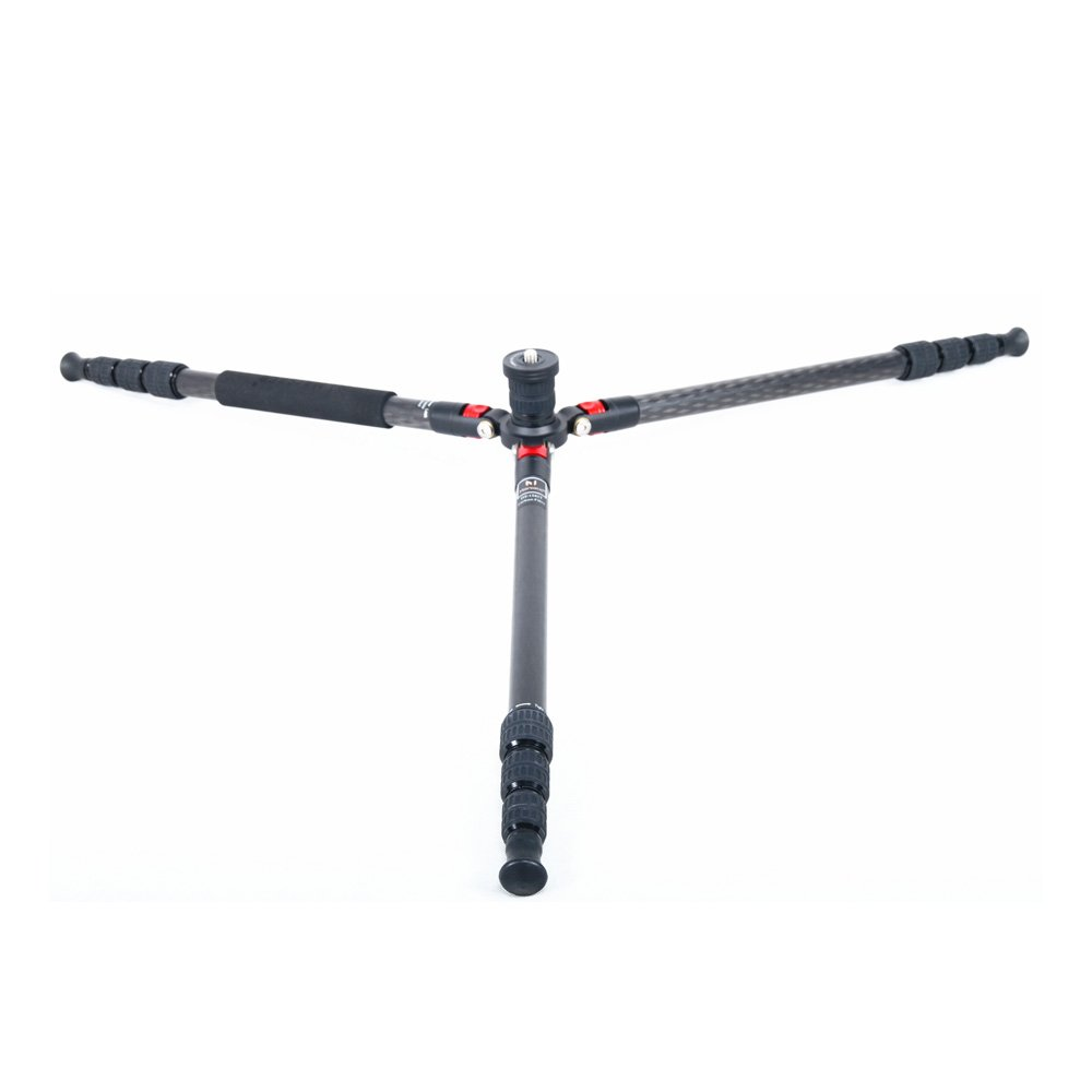 Marsace DT-1 Reversible 4-Section 8-Layer Carbon Fiber Tripod by MARSACE (Image #2)