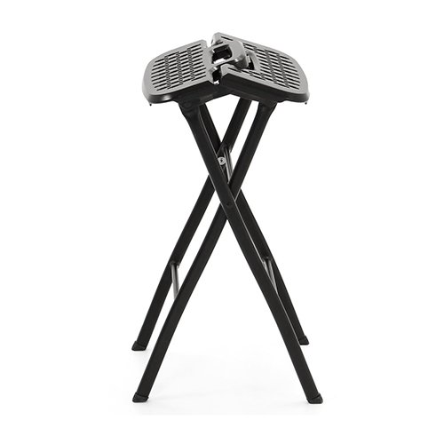 Mitylite Flex One Folding Stool 24 Quot Black Pack Of 2