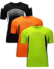 17a5b832178f ZITY Athletic T-Shirt Sportswear Men's 100% Polyester Moisture-Wicking  Training Short-